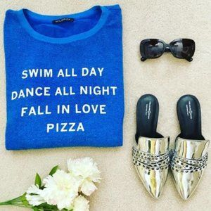 WILDFOX Swim All Day Statement Sweatshirt
